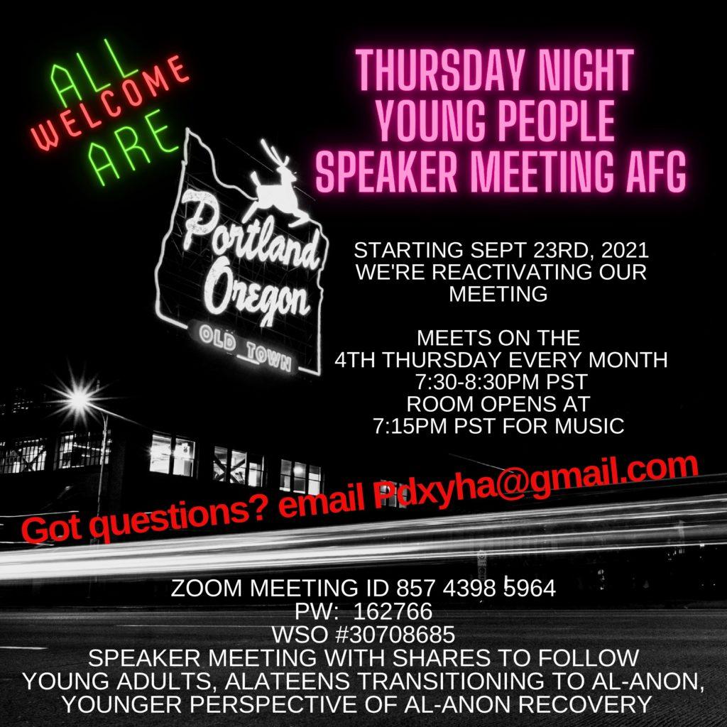 Speaker Meeting